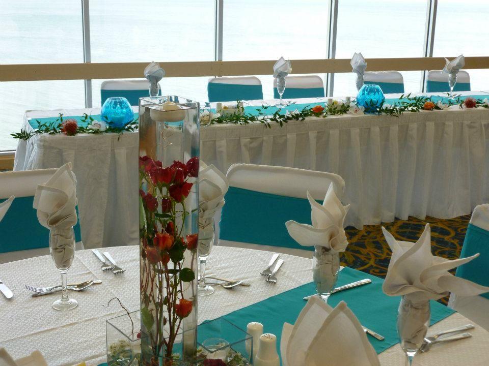 Beach Wedding Reception Dunes Oceanfront Ballroom Hilton