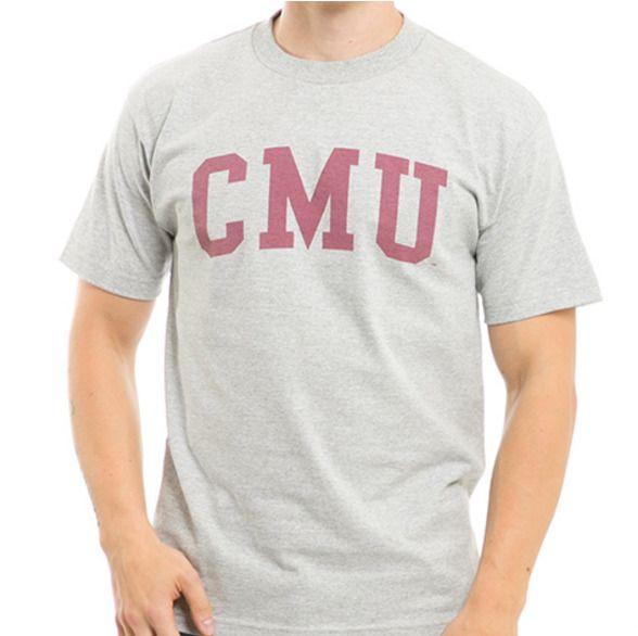 eb917a4e3f80d Central Michigan University CMU Chippewas NCAA T Shirt College Tee S M L XL  2XL  WRepublic  BasicTee