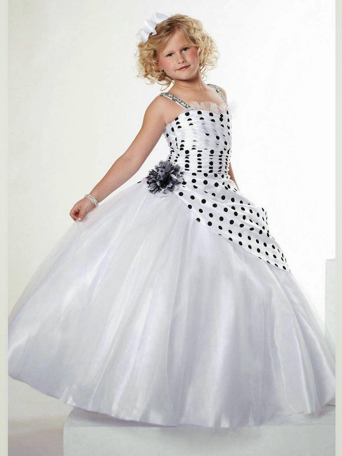 Modelos de vestidos de nina de noche