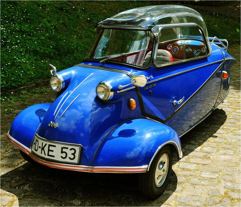 Messerschmidt Micro Car...should Have Bought 1 Of These In