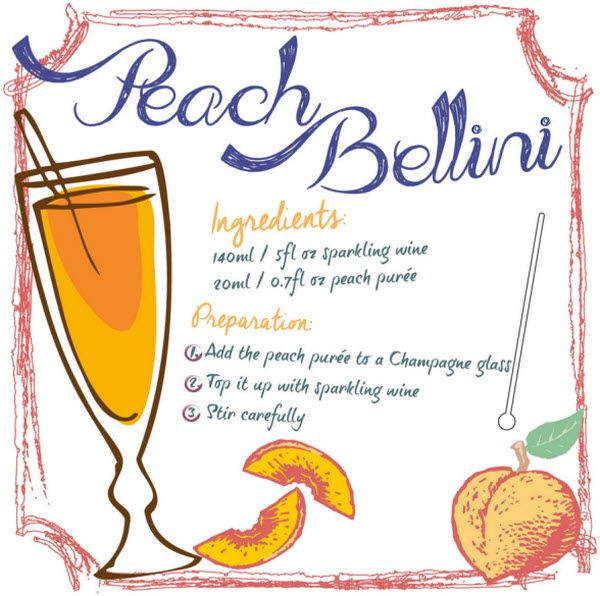 Mix Your Own… Peach Bellini