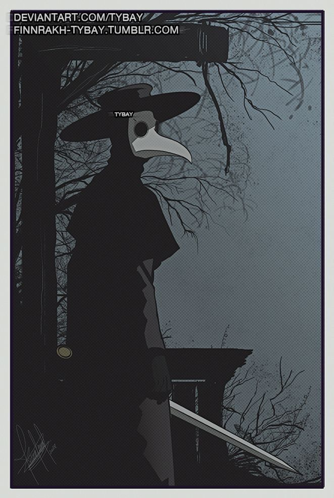 Pin by Jeanne Loves Horror💀🔪 on Black Plague Doctor in