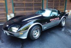 3k-Mile 1978 Chevrolet Corvette Pace Car Edition Bid for the chance to own a 3k-…