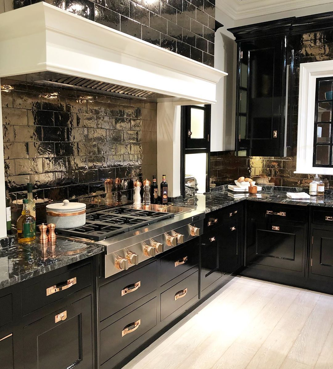 traditional with a modern touch home homeideas kitchen kitchendesign customcabinetry on kitchen remodel gold hardware id=97099