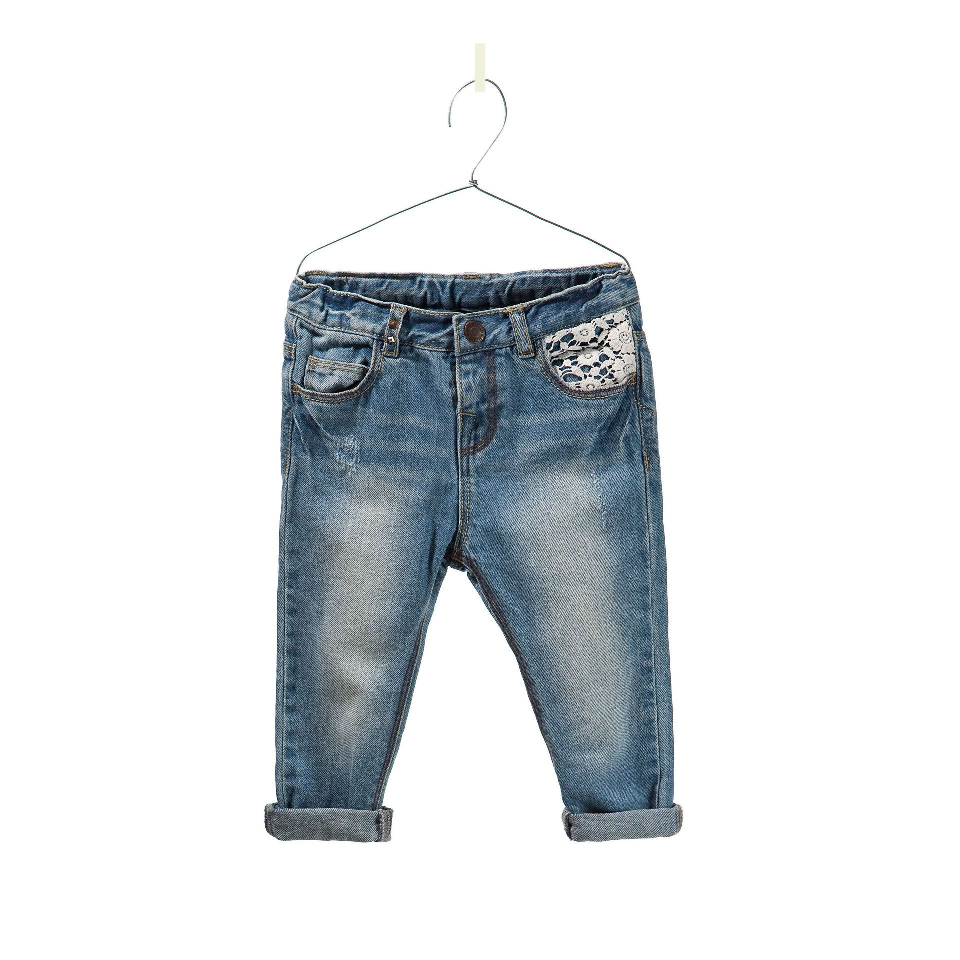 50e815551 jeans bordado - Pantalones y faldas - Bebé niña - Niños - ZARA ...