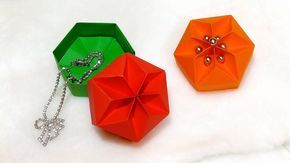 Gift box really easy origami hexagonal box ideas for easter gifts origami hexagonal box ideas for easter gifts youtube negle Image collections