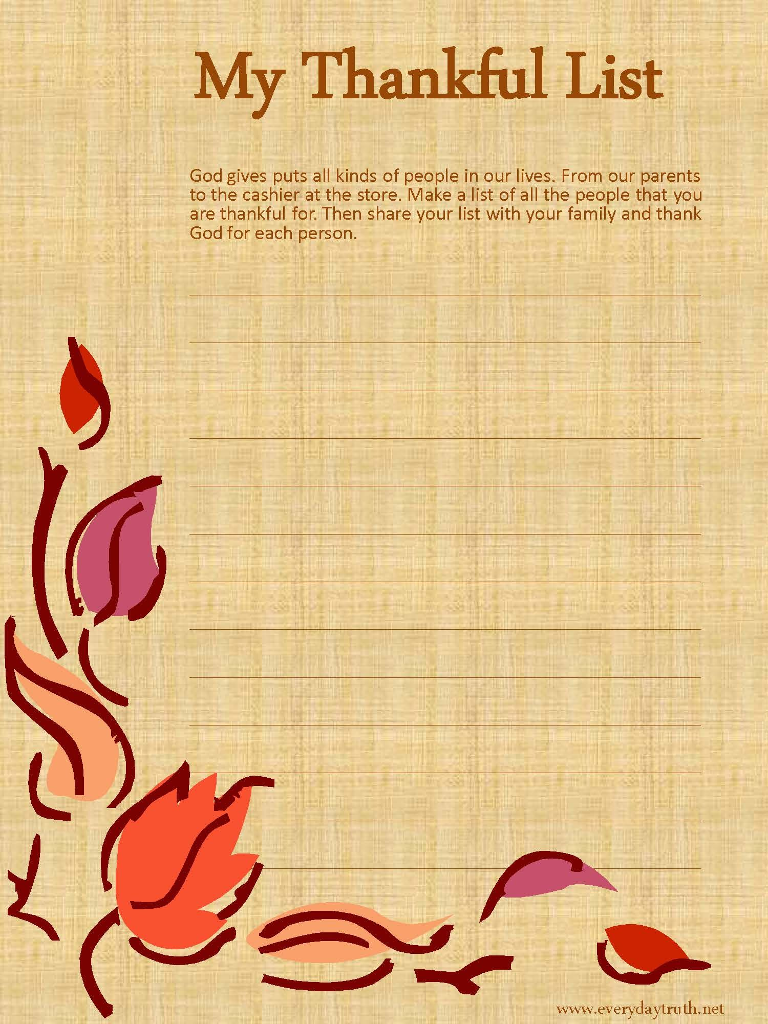 It's just a picture of Playful Printable Thanksgiving Devotions