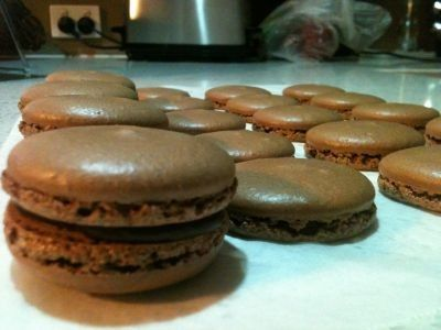 Chocolate foolproof Macarons recipe