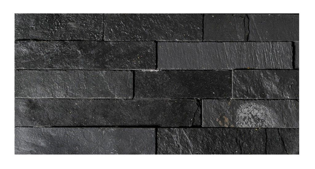 Uncalibrated Slate Linear Split Face Mosaic | Topps Tiles