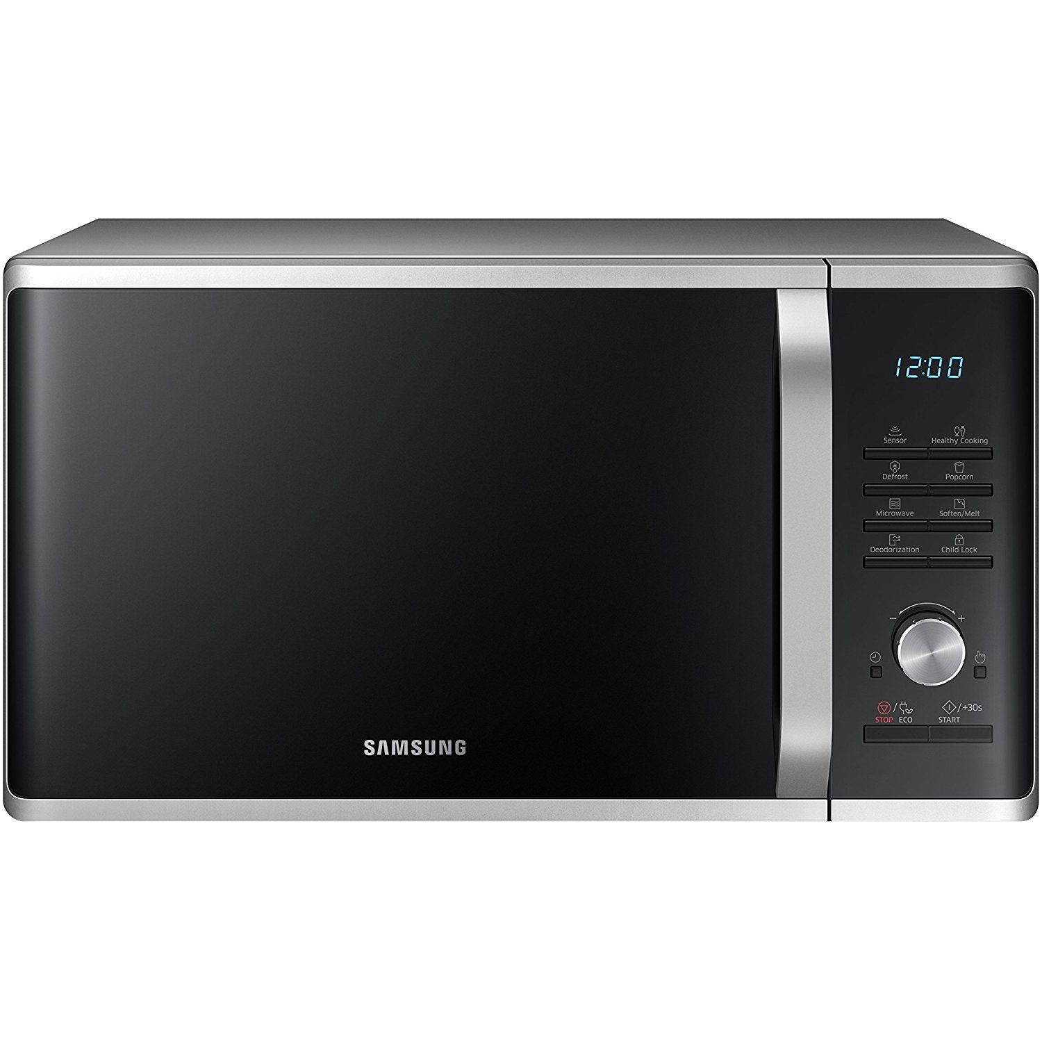 Samsung Ms11k3000as 1 Cu Ft Countertop Microwave Oven With Sensor And Ceramic Enamel Interior