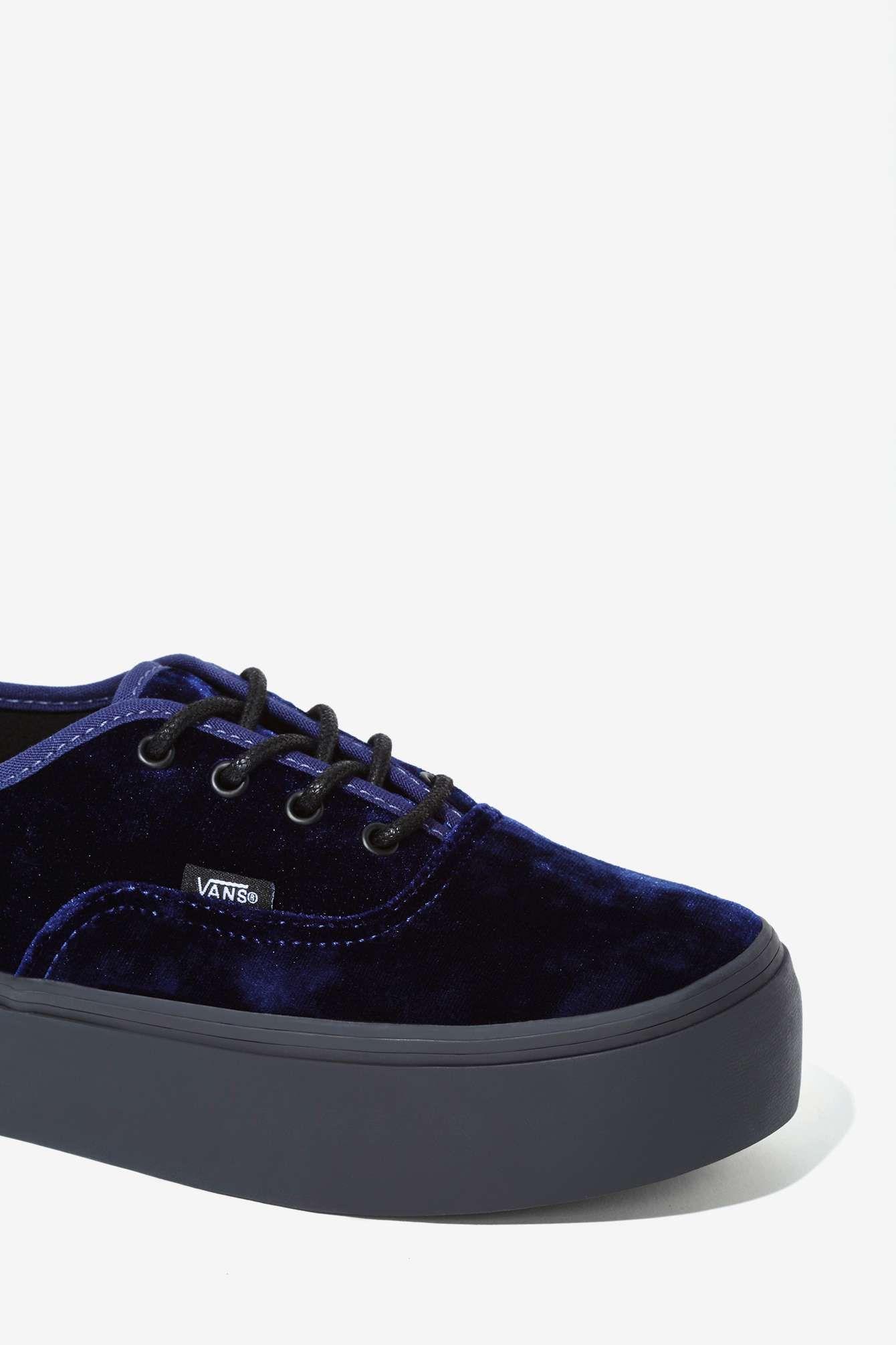 zapatillas vans terciopelo