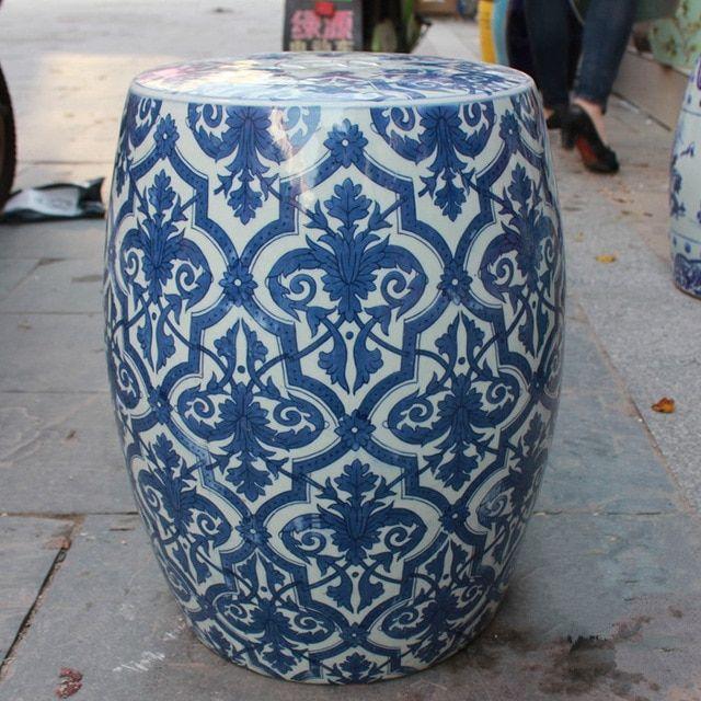 Jingdezhen Porcelain Garden Stool Ceramic Stool For