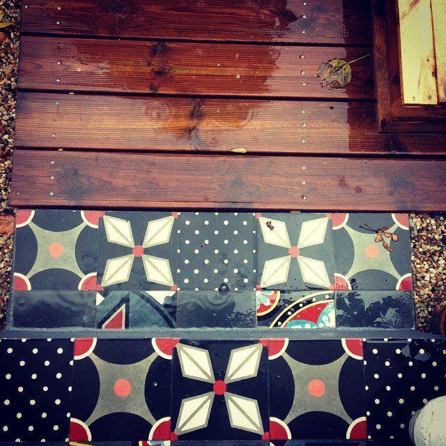 Carreaux de ciment La touche d\'Agathe - Sols et murs - sols, floor ...