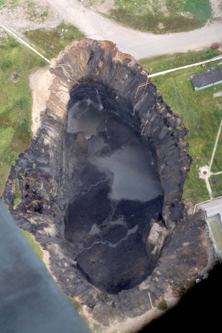MFS-The Resource Center Blog: ✈Worldwide Wednesdays: Astounding Sinkholes From Around the World #naturallandmarks