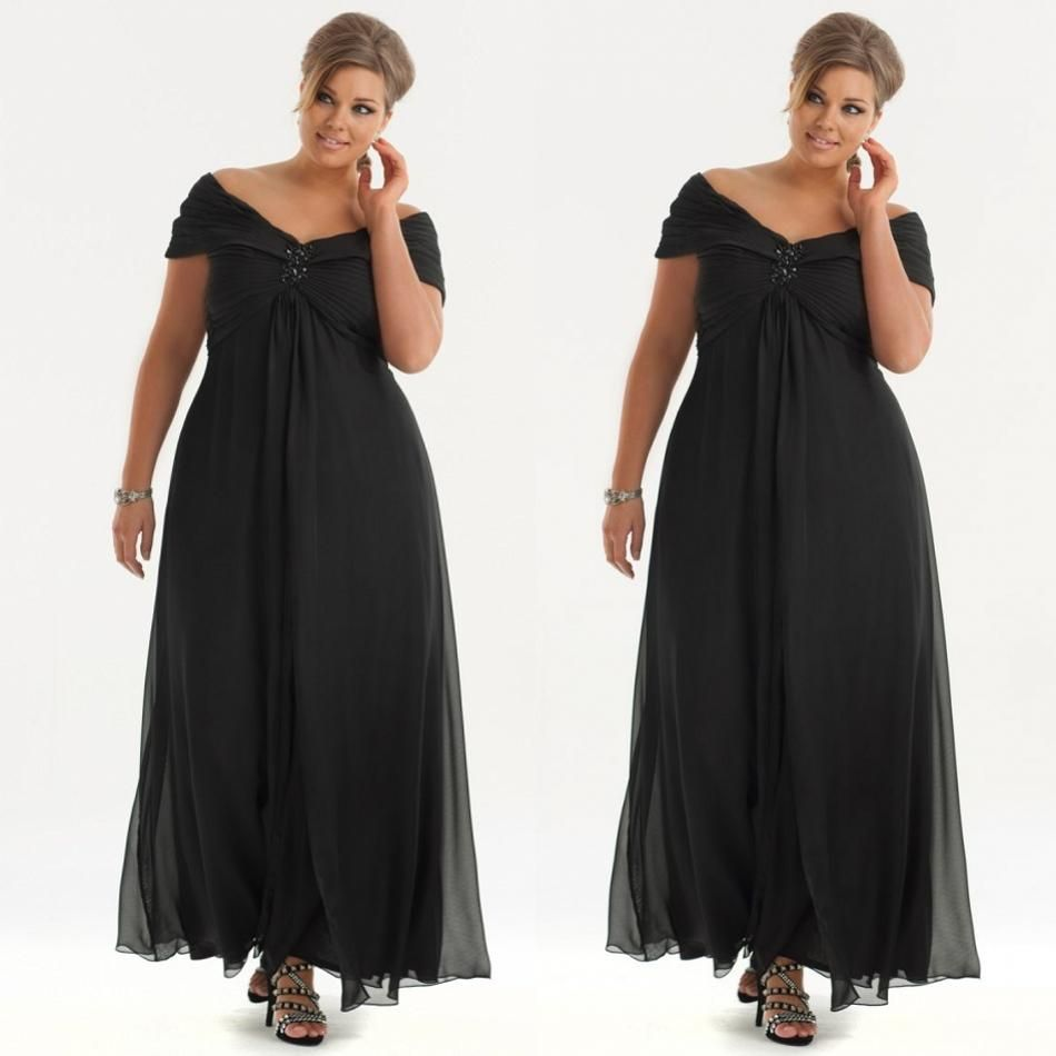 Black And White Mother Of The Bride Dresses Plus Size - raveitsafe