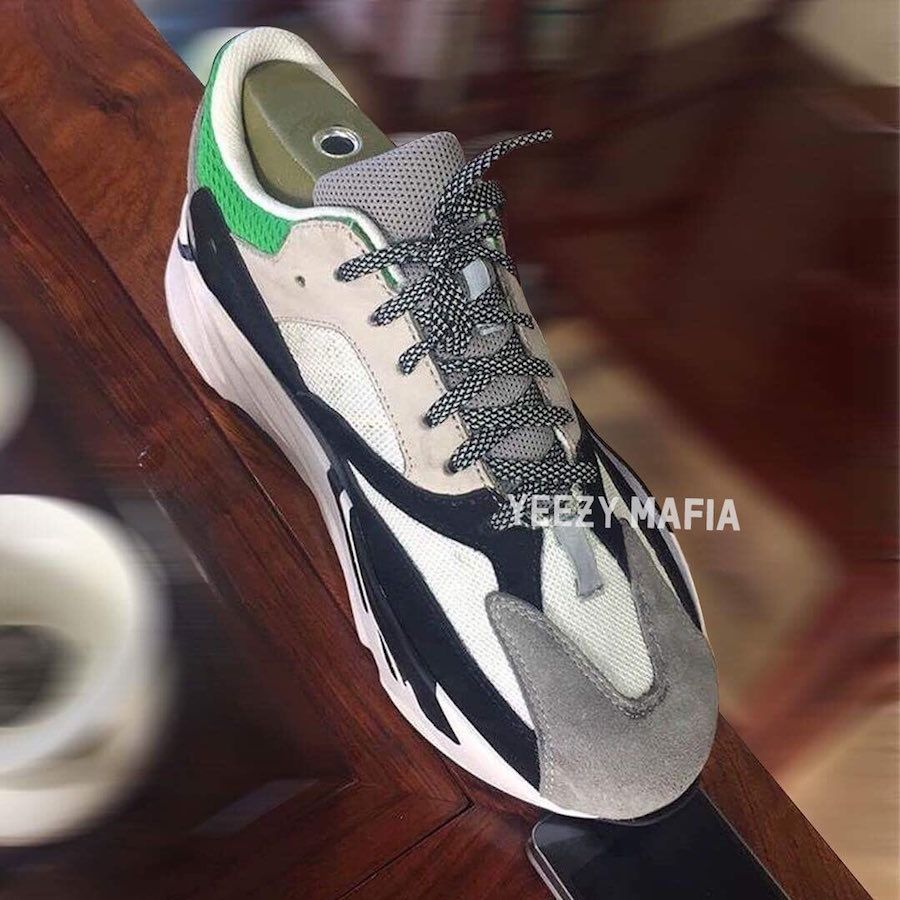 c97d11b03ab First Look at the Yeezy Wave Runner 700 « Tan Green »