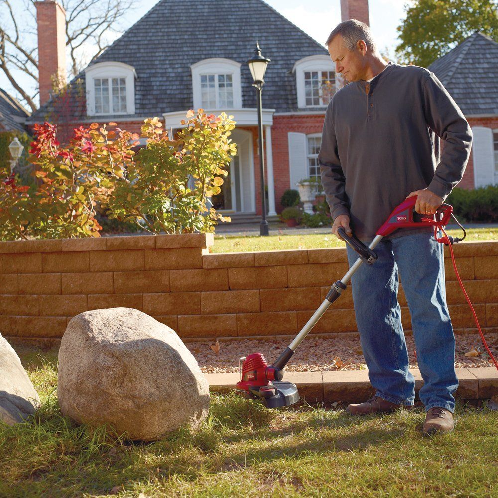 Toro 51480 Corded 14-Inch Electric Trimmer/Edger | Pinterest