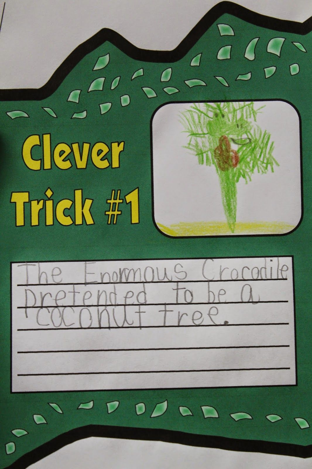 Enormous Crocodile Clever Tricks Amp Lots Of Other Ideas