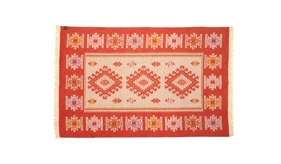 monoqi 160x250 kaira rug lt orange rugs red on home depot paint sales this week id=20206