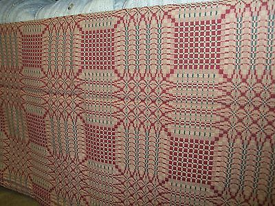 Table Throw 50 X 78 Pine Burr Pattern By Family Heirloom Weavers Red Green Family Heirloom Table Throw Red Green