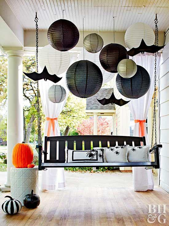 Halloween Decorations that Last All Season Long Paper lanterns