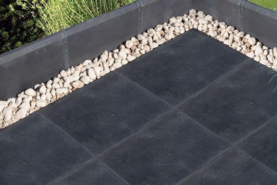 Terrasse  carrelages et dallages pour lu0027extérieur La terrasse - plaque de beton pour sol exterieur