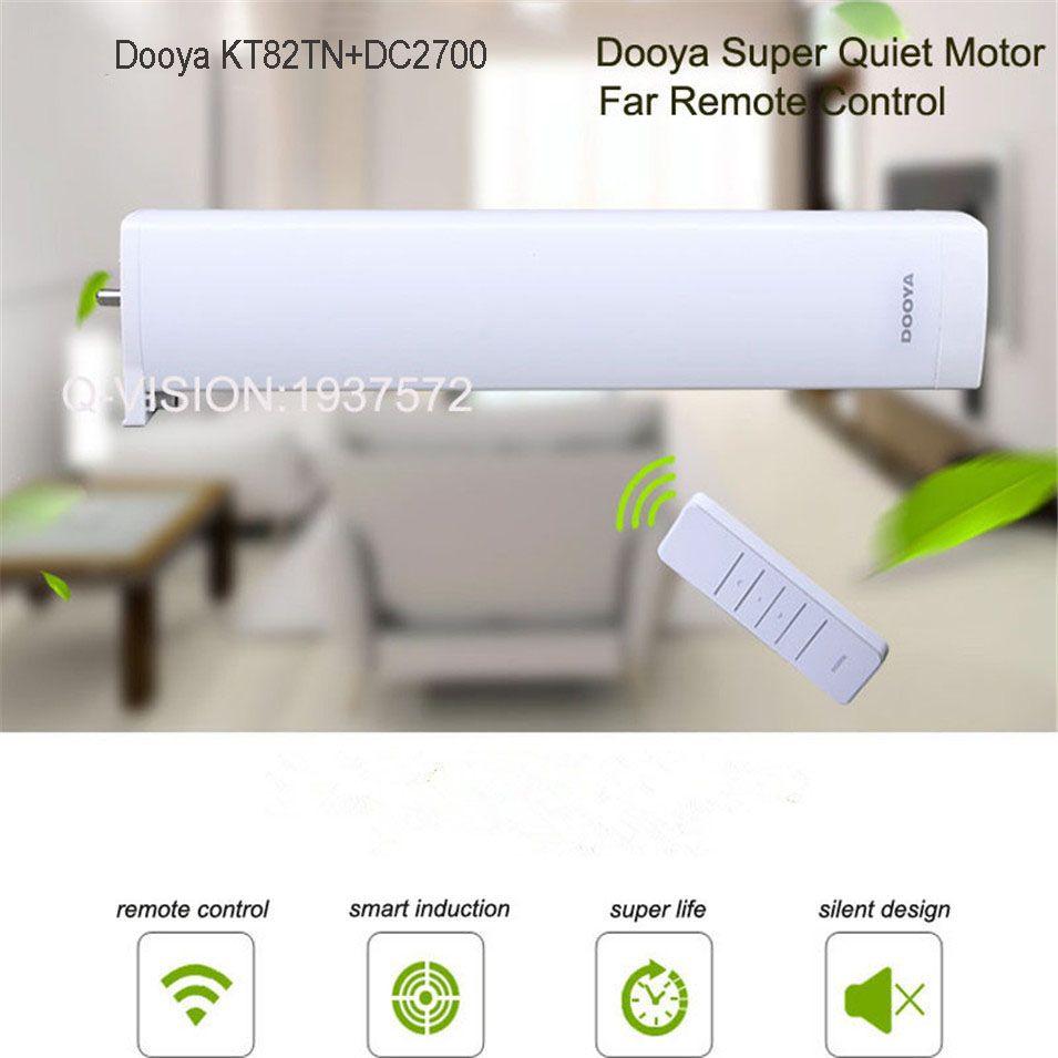 Original Dooya Kt82tn Electric Curtain Dc Motor Dc2700 Remote
