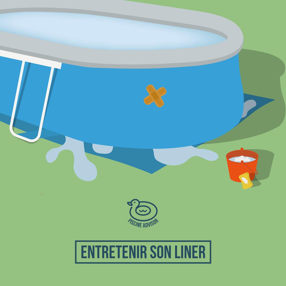 liner piscine hors sol entretien et pr vention des fuites piscine hors sol liner piscine