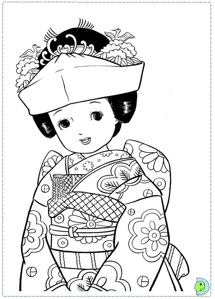 find this pin and more on school japan girls day vintage japanese coloring page