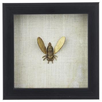 Fotolijst Met Insect Bij In Goud Kopen Karwei Insecten Goud Decoratie