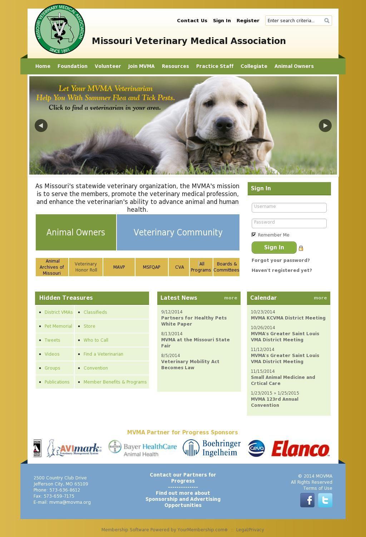 Missouri Veterinary Medical Association Veterinary, Pet