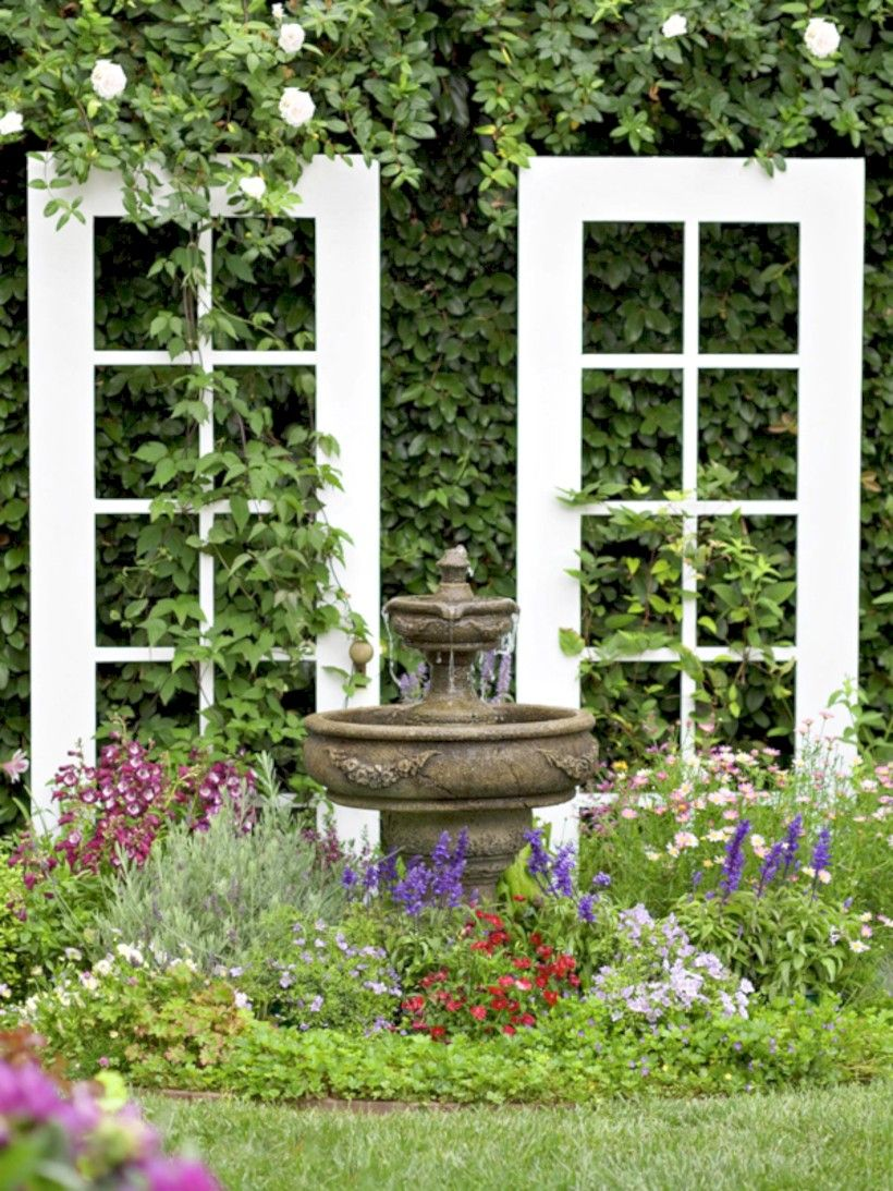 46 Stunning Ideas For Outdoor Garden Wall Mirrors