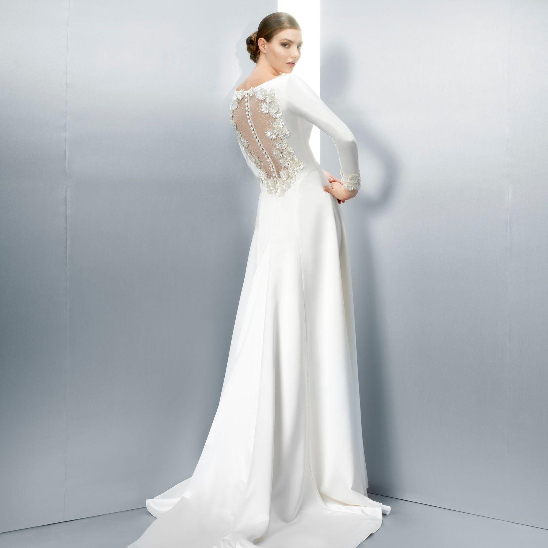 Vestidos de novia - Jesús Peiró | Dusky Pink | Pinterest | Vestidos ...