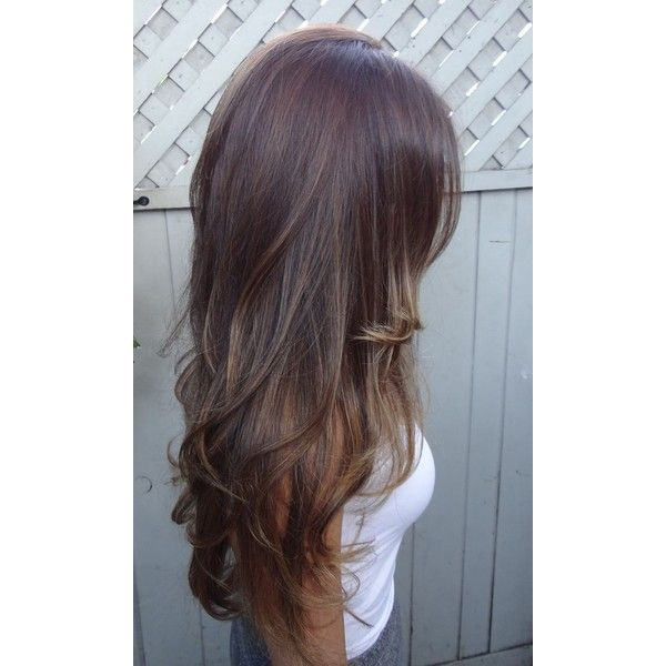 Light Brown Hair Back View Fashion Trends ❤ liked on Polyvore featuring accessories, hair accessories and hair