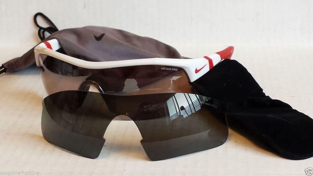 NIKE MAX INTERCHANGE sport men sunglasses wrap style NWT