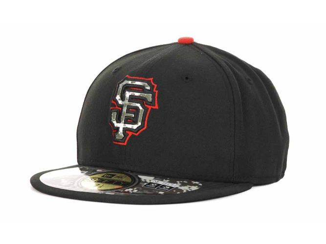 The 2012 SF Giants Stars & Stripes on-field cap. No garish design this year!