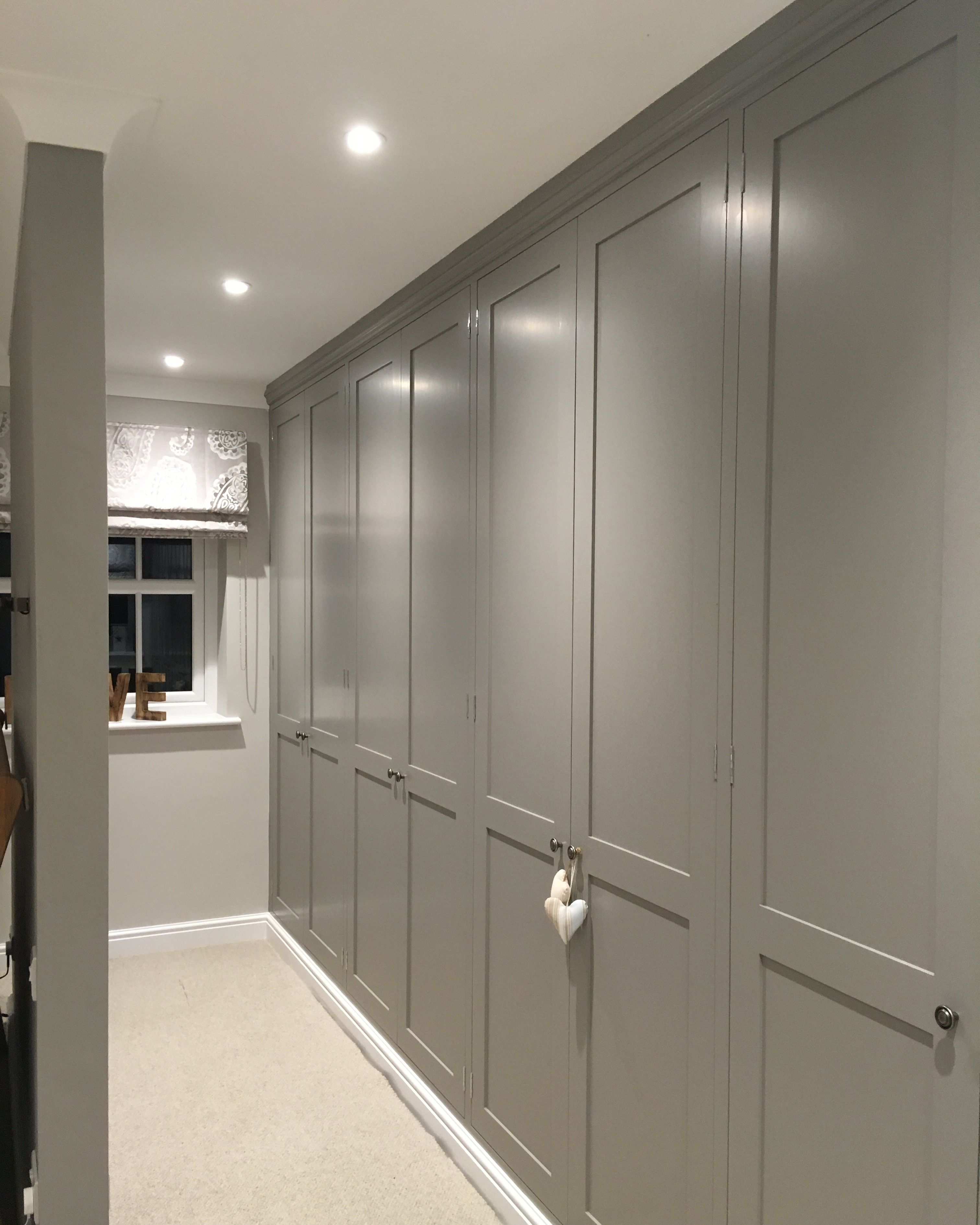 Best Our Home New Built In Wardrobes Painted Farrow And Ball 400 x 300