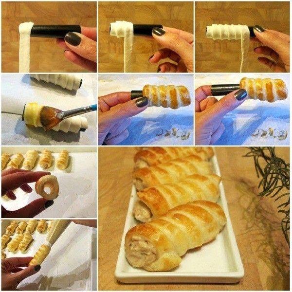 Homemade Chestnut Cream Roll   www.prakticideas.com