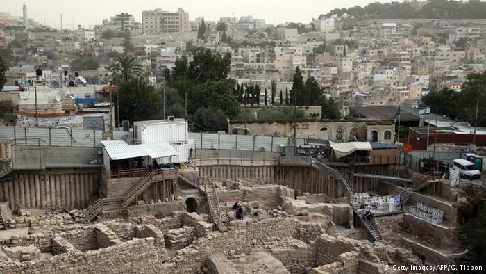 Acra foi localizada em escavações num antigo estacionamento