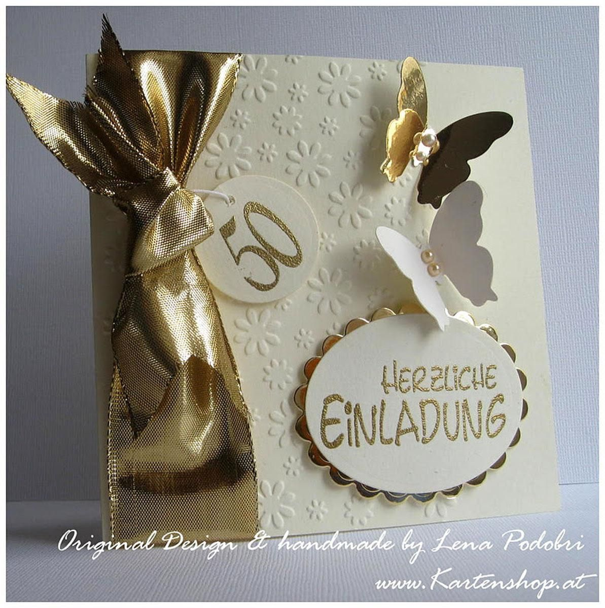 Einladungskarten Goldene Hochzeit Bilder. Einladungskarten  OnlineEinladungskarten ...