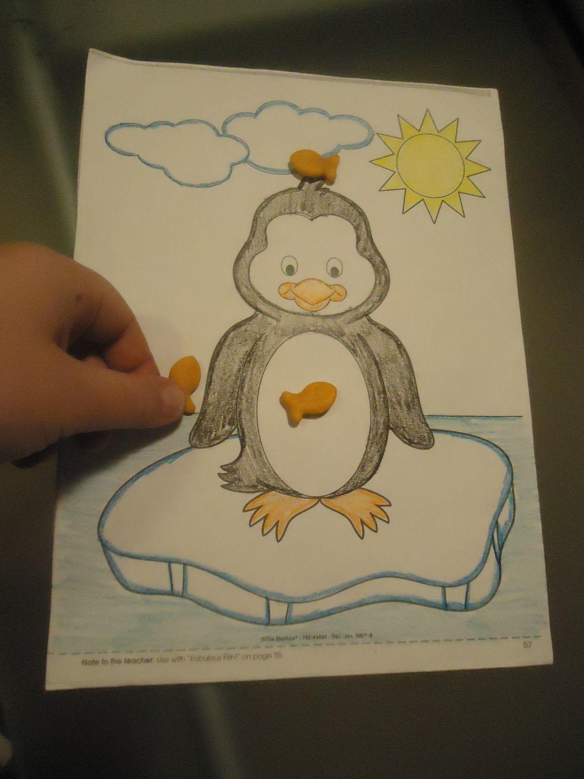Pretty Cool Preschool Penguin Positional Words
