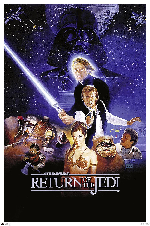 Star Wars Poster Return Of The Jedi Style B Star Wars Episoden Filmplakate Vintage Filmplakate