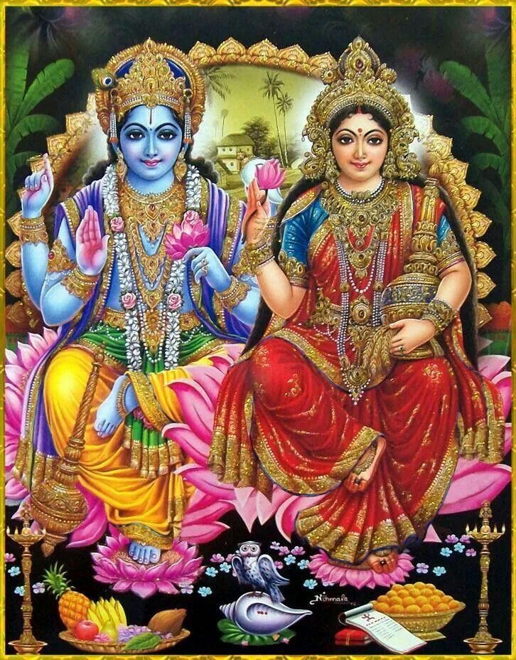 Shree Lakshmi Narayana Lakshmi Images Hindu Deities Vishnu