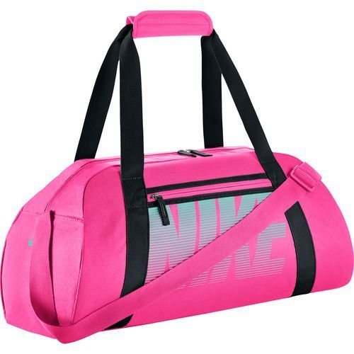 accd89bc25dc Nike Women s Gym Club Training Duffel Bag Pink Bright Black - Athletic  Sport Bags at Academy Sports