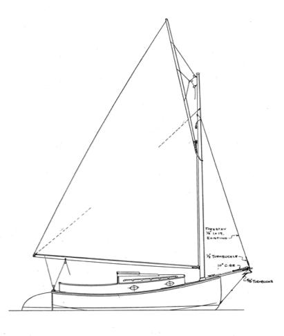 Wittholz 17 Catboat
