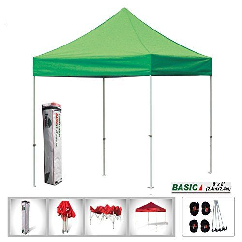 Eurmax 8x8 Feet Ez Pop up Canopy Tent