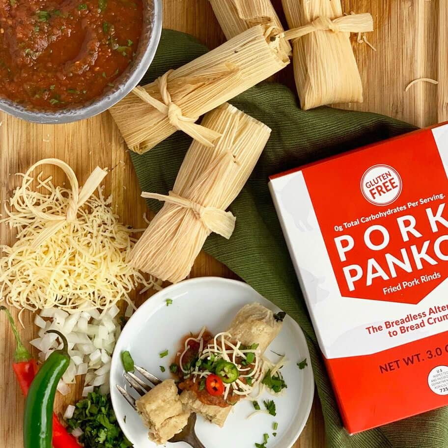 Low carb instant pot tamales with pork panko masa in 2020