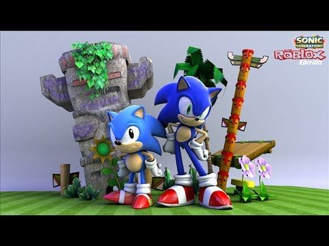 Omg 21st Century Gaming Comes To Roblox With Sonic The Hedgehog Levels Roblox The Last Movie Christmas Ornaments