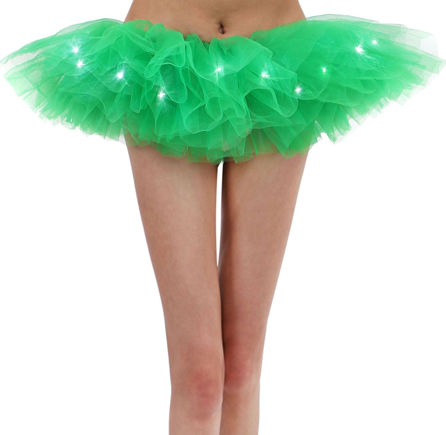 f37da0a880 Women's Classic 5 Layered LED Light Up Tutu Skirt - Green -  CR17YTYGCQ2,Women's Clothing, Skirts #women #clothing #fashion #style #sexy  #outfits #Skirts