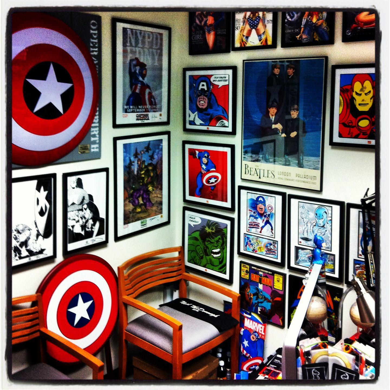 My Super Geek Office Nerd Room Geek Room Game Room Basement